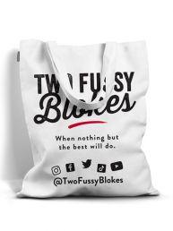 two fussy blokes shopping bag